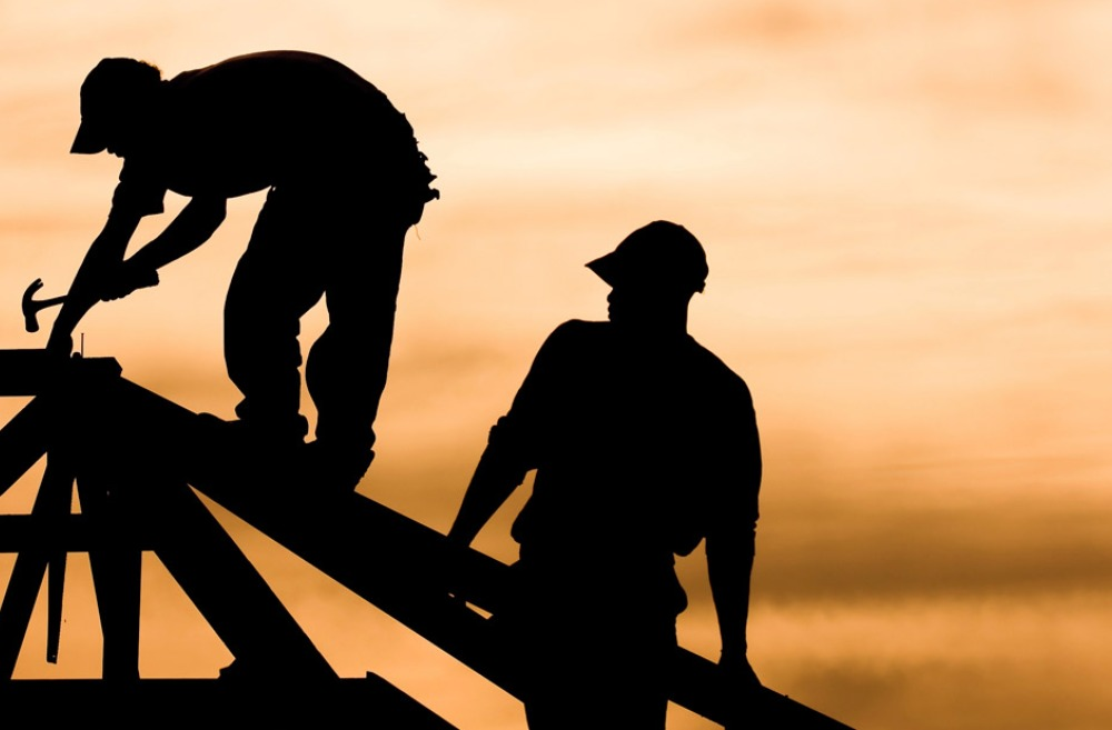 Silhouette of Construction Workers | Construction Safety Training in Erie, CO